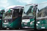 Photo de la flotte d'autocars