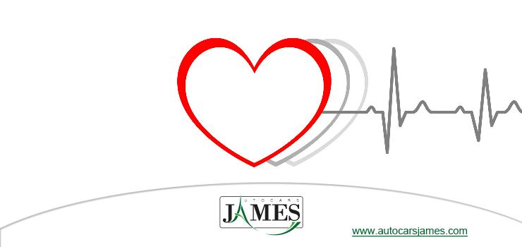 Dessin d'un coeur avec électrocardiogramme
