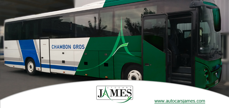 Photo d'un autocar chambon gros james